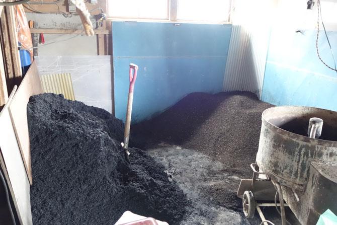 お米の床土作り